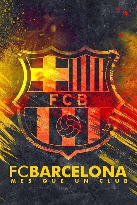 عکس لوگوی بارسلونا برای پس زمینه