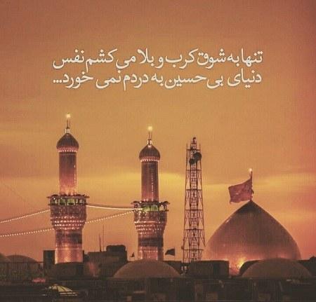 عکس پروفایل شش گوشه امام حسین