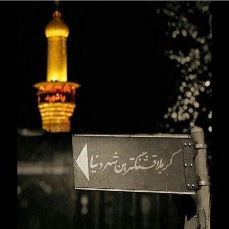 عکس پروفایل از حرم امام حسین جدید