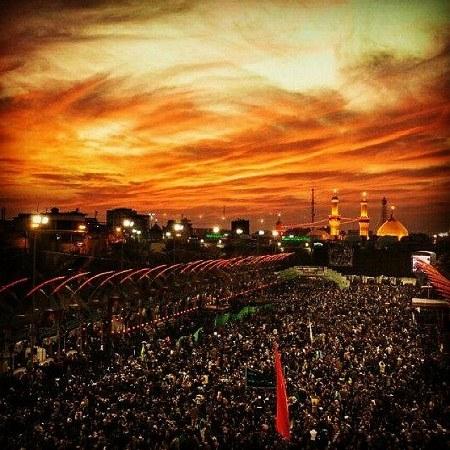 عکس حرم امام حسین برای صفحه گوشی