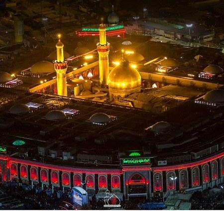عکس پروفایل جدید از حرم امام حسین ع