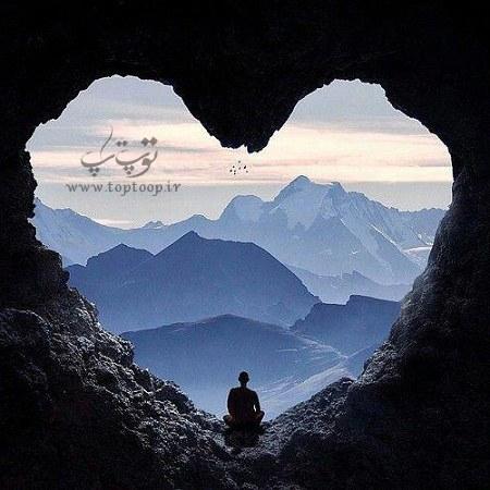 جملات کوتاه و زیبا درباره طبیعت و عشق