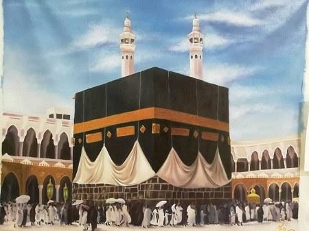 عکس نقاشی خانه ی خدا