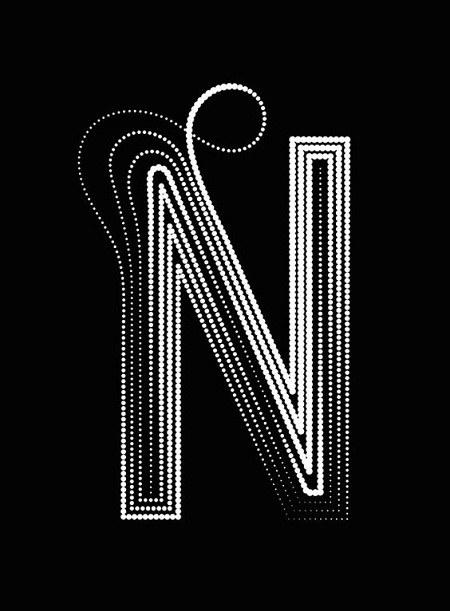 حروف N
