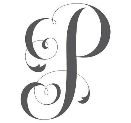 عکس هنری حرف p