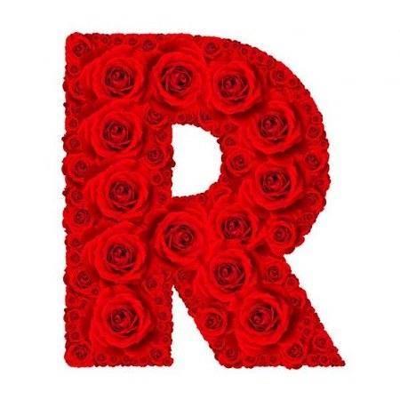 عکس حرف r عاشقانه برای پروفایل و استوری