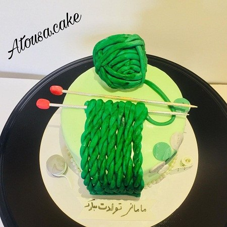 تصاویر کیک تولد مادر