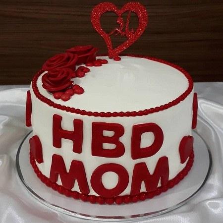 عکس کیک تولد مادر شوهر