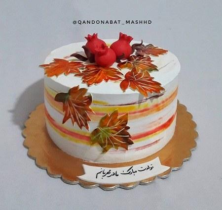 گالری عکس کیک تولد مادر لاکچری