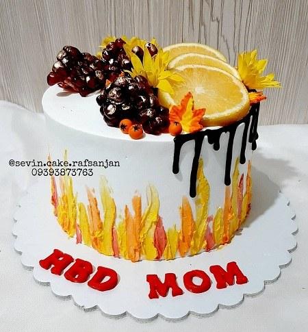 عکس کیک تولد واسه مادرم
