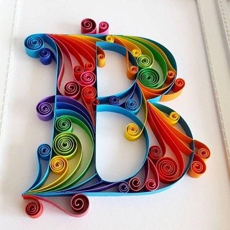 تصاویر حرف انگلیسی b