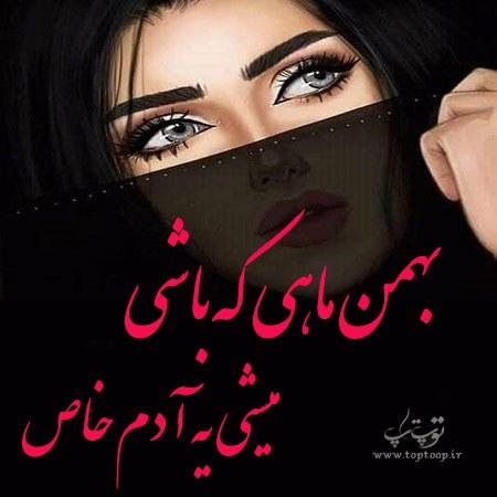 جملات زیبای بهمن ماهی که باشی + عکس