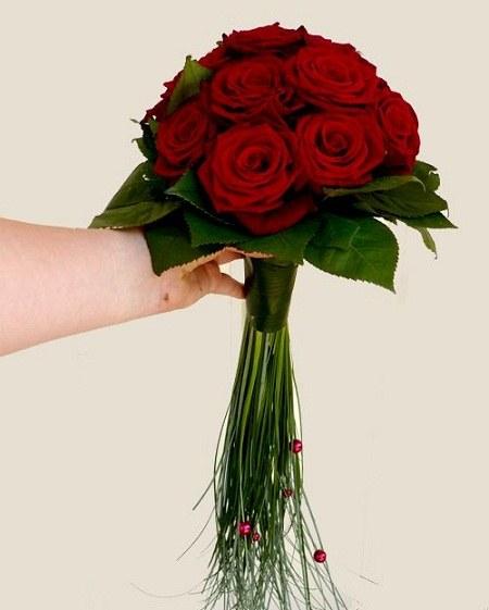 عکس دسته گل عروس برای پروفایل