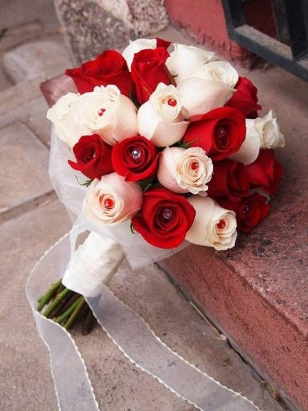 مجموعه عکس شیک دسته گل عروس