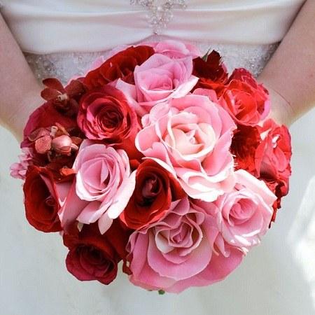 دسته گل عروس عکس جدید