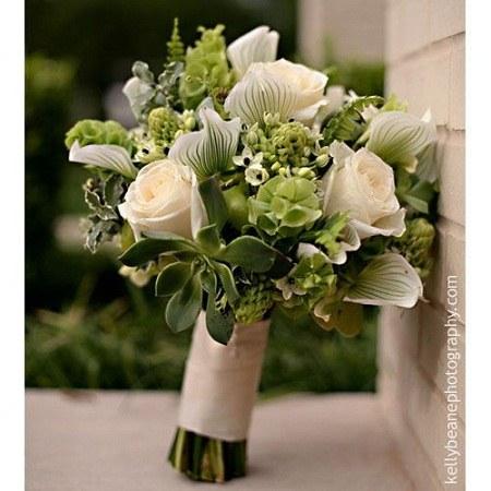 تصاویر دسته گل عروس