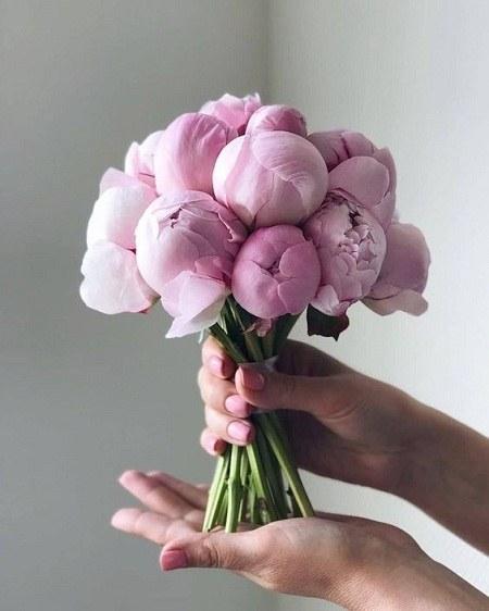 دسته گل عروس عکس