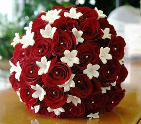 دسته گل عروس خاص