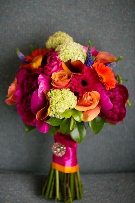 گالری شیک ترین عکس های دسته گل عروس