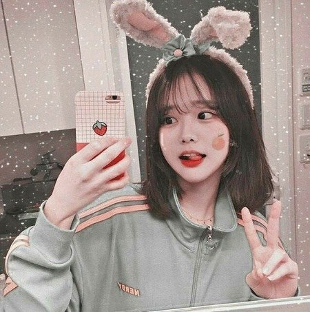 عکس دختر کره ای شیطون