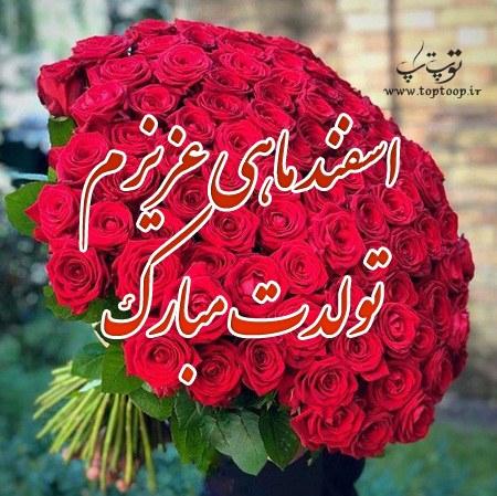 جملات و عکس تبریک تولد همسر اسفند ماهی