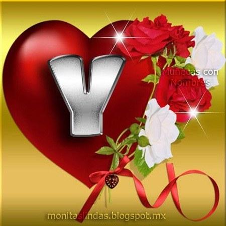 عکس حرف y قلبی