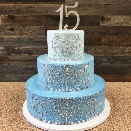 عکسهای تولد 15 سالگی کیک تولد