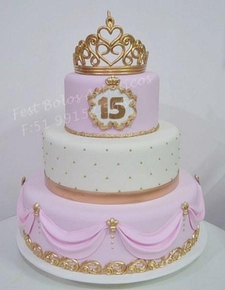 عکس کیک تولد 15 سالگی