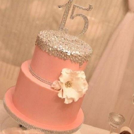 تصاویر کیک تولد 15 سالگی