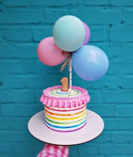 عکس کیک یک سالگی