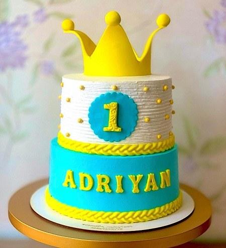 عکس زیبا از کیک تولد یک سالگی