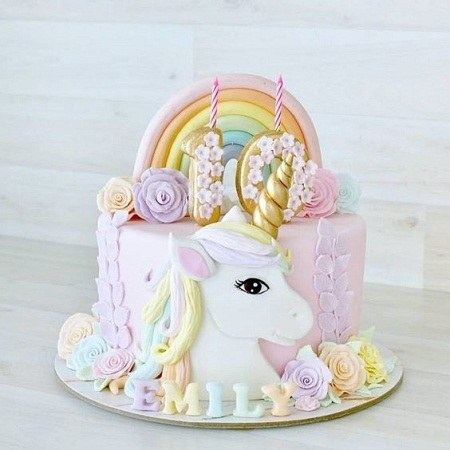 عکس کیک تولد یکسالگی بچه