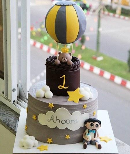 عکس کیک تولد یک سالگی