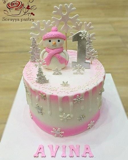 بهترین تصاویر از کیک تولد 1 سالگی