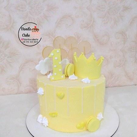 عکس کیک تولد یکسالگی پسرانه