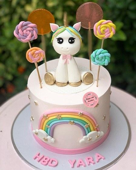 عکس کیک تولد یک سالگی جدید