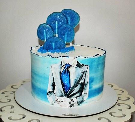 عکس کیک تولد برادرم احساسی