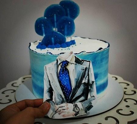 عکس واسه کیک تولد برادر