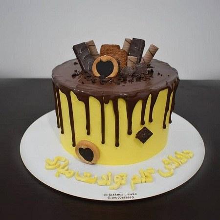 کیک تولد داداش گلم تولدت مبارک