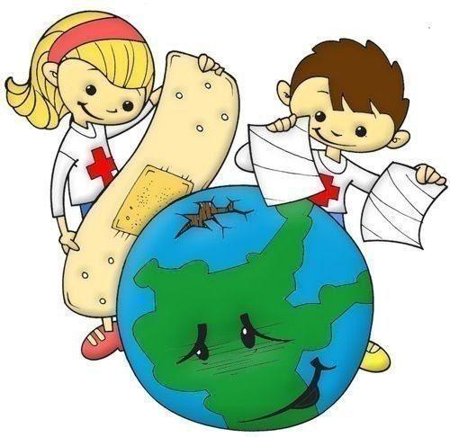 نقاشی ساده کره زمین