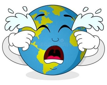 نقاشی گریه کره زمین