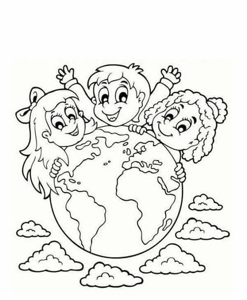 عکس نقاشی کره ی زمین جدید
