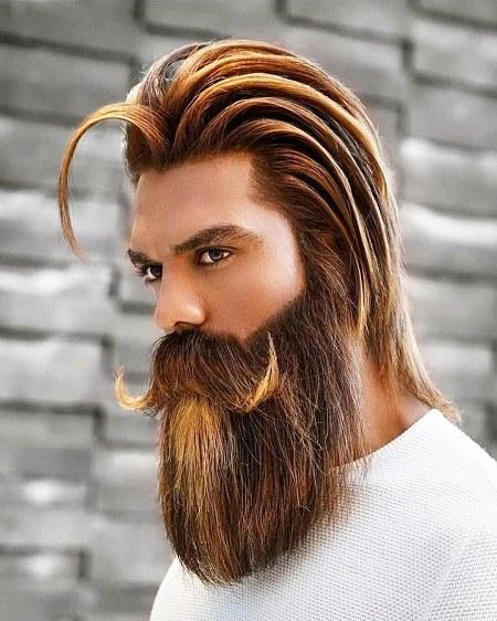 عکس پسر خارجی خوشگل با ریش