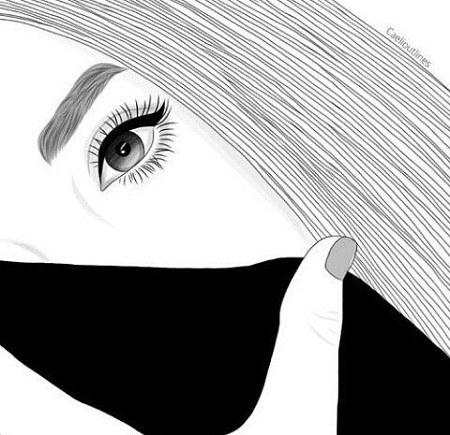 مجموعه عکس سیاه و سفید دخترانه