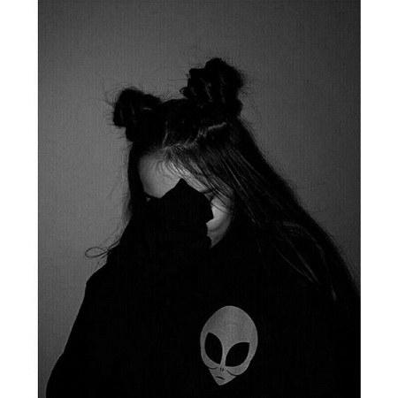 مجموعه عکس سیاه و سفید دخترانه زیبا