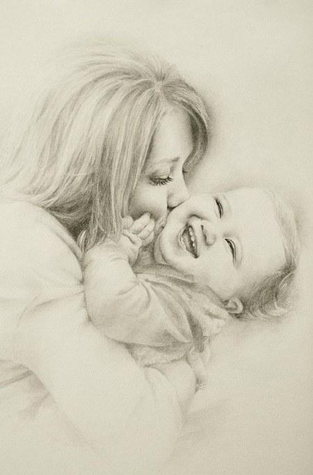تابلو مادر فرزندی