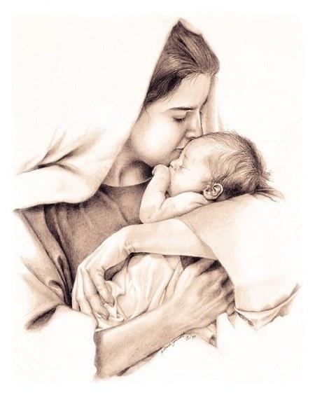 تابلو مهر مادر