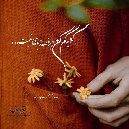 عکس نوشته گلایه از فامیل