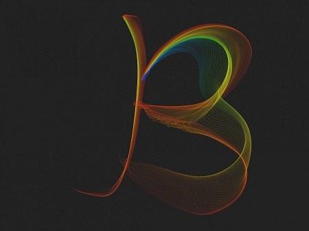 عکس پروفایل هنری حرف انگلیسی B