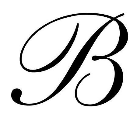 عکس حرفه ای از حرف انگلیسی b
